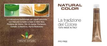 • Natural Color» Colorazione permanente