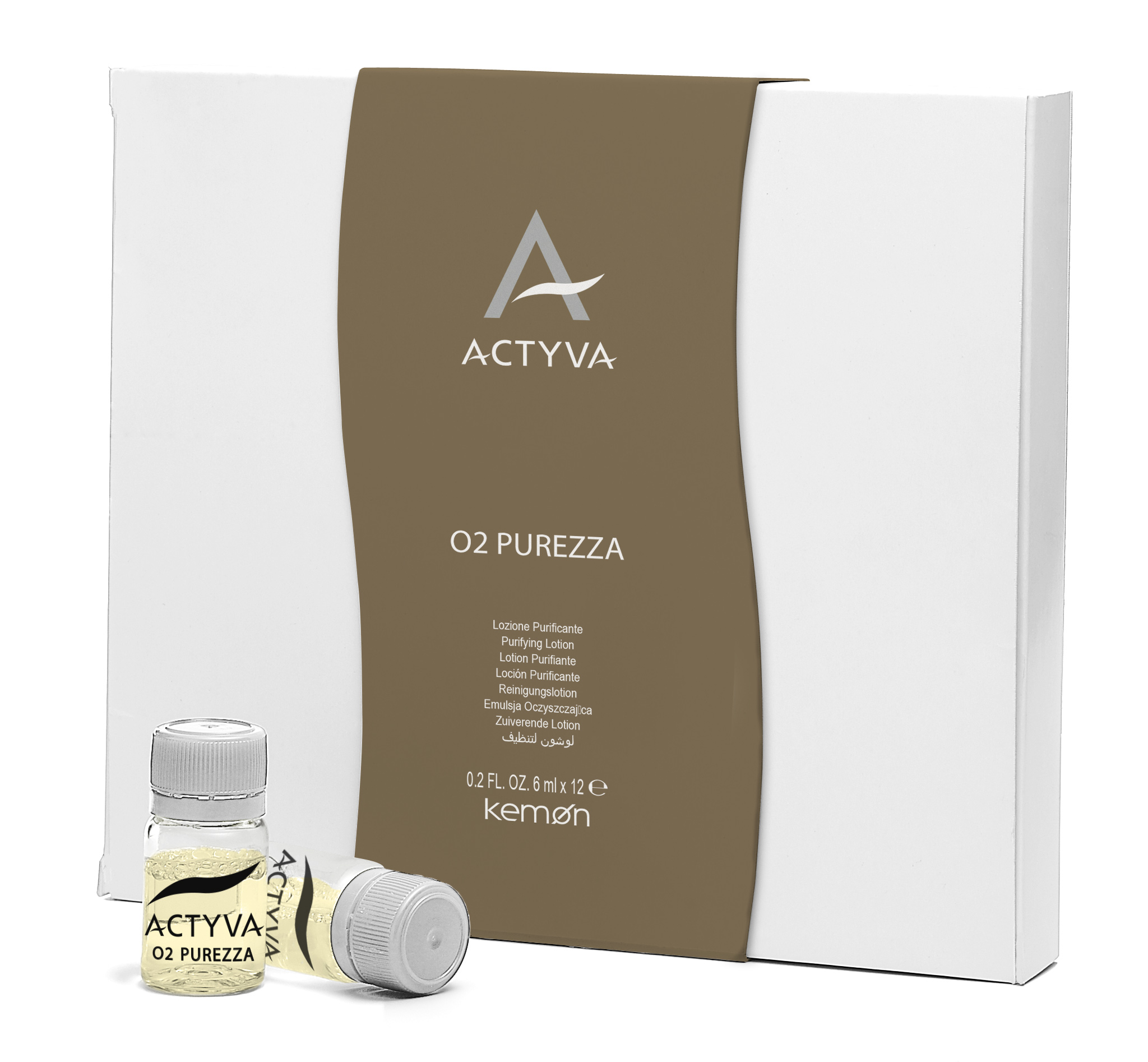 Actyva O2 Purezza - 12x6ml