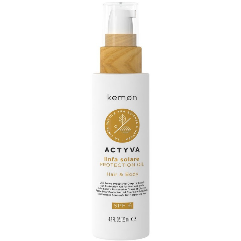Actyva Linfa Solare Protection Oil - 125ml